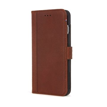 Decoded Leather Wallet Case Brown iPhone 7 plus/8 plus (D6IPO7PLWC3CBN)
