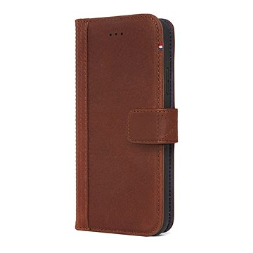 Decoded Leather Wallet Case Brown iPhone XS/X (D7IPOXWC5CBN)