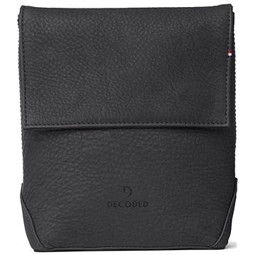 Decoded Leather Travel Pouch Black (D7TP1BK)