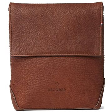 Decoded Leather Travel Pouch Brown (D7TP1CBN)