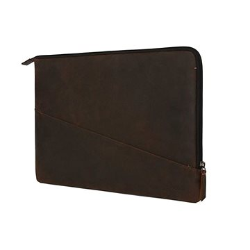 Decoded Waxed Slim Sleeve Brown MacBook Pro 15 (D8SS15WXBN)
