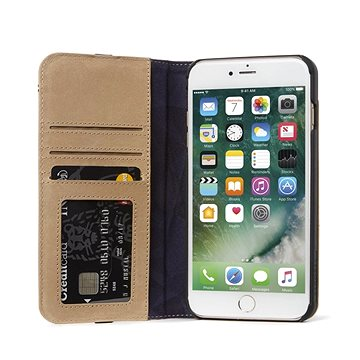 Decoded Leather Wallet Case 2 Sahara iPhone 8/7/6s (DA6IPO7CW3SA)