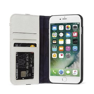 Decoded Leather Wallet Case 2 Grey iPhone 8 Plus/7 Plus/6s Plus (DA6IPO7PLCW3WEGY)