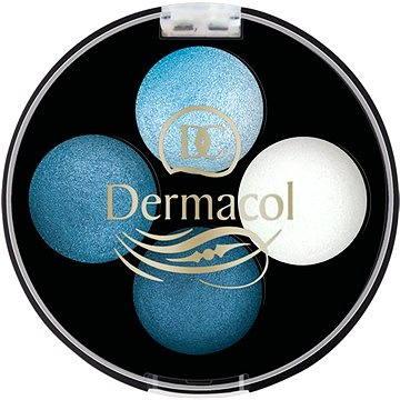 Oční stíny DERMACOL Quattro Baked Eye Shadows No.2 4× 0,5 g (8590031097824)