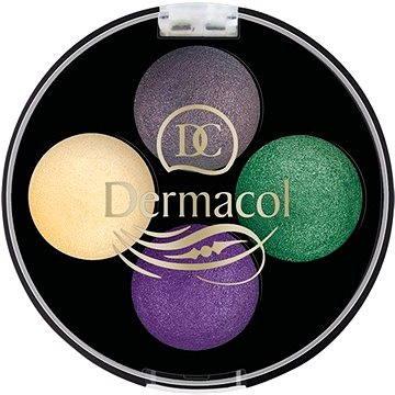 Oční stíny DERMACOL Quattro Baked Eye Shadows No.8 4× 0,5 g (8590031097947)