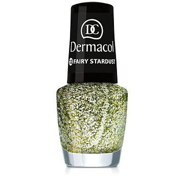 Lak na nehty DERMACOL Nail Polish With Effect - Fairy Stardust 5 ml (85957589)