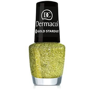 Lak na nehty DERMACOL Nail Polish With Effect - Gold Stardust 5 ml (85957596)