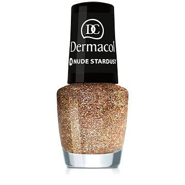 Lak na nehty DERMACOL Nail Polish With Effect - Nude Stardust 5 ml (85957602)