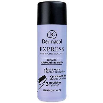 Odlakovač na nehty DERMACOL Express Nail Polish Remover120 ml (85955837)