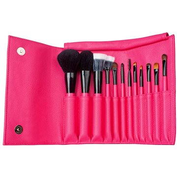 Sada DERMACOL Set Cosmetic brushes with case (8590031096766)
