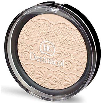 Kompaktní pudr DERMACOL Compact Powder č.1 8 g (8590031101729) + ZDARMA Make-up DERMACOL Wake & Make Up 1 ml