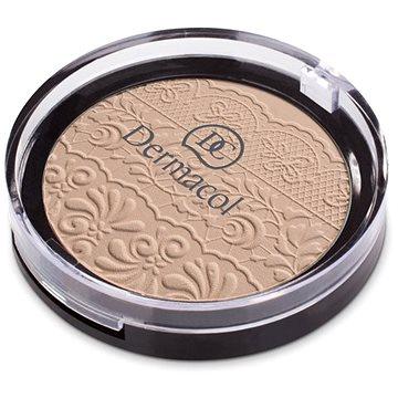 Kompaktní pudr DERMACOL Compact Powder č.4 8 g (8590031101781) + ZDARMA Make-up DERMACOL Wake & Make Up 1 ml