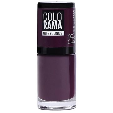Lak na nehty MAYBELLINE NEW YORK Colorama 25 Plum (30139626)