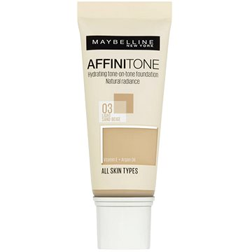 Make-up MAYBELLINE NEW YORK Affinitone 03 Light Sand Beige 30 ml (3600530427451)