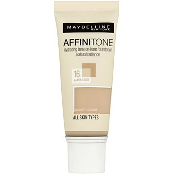 Make-up MAYBELLINE NEW YORK Affinitone 16 Vanilla Rose 30 ml (3600530427482)