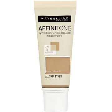 Make-up MAYBELLINE NEW YORK Affinitone 17 Rose Beige 30 ml (3600530427499)