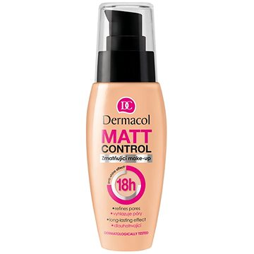 Make up DERMACOL Matt control make up č. 3 30 ml (85952089)