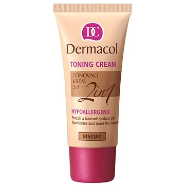 Make up DERMACOL Toning Cream 2v1 - Biscuit 30 ml (85952522)