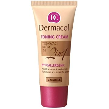 Make up DERMACOL Toning Cream 2v1 - Caramel 30 ml (85952546)
