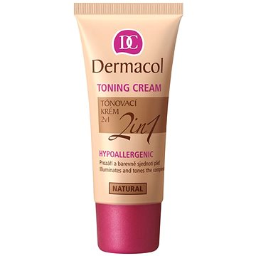 Make up DERMACOL Toning Cream 2v1 - Natural 30 ml (85934832)