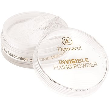 Pudr DERMACOL Invisible Fixing Powder - white 13,5 g (85960145)
