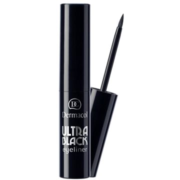 Oční linky DERMACOL Dipliner Ultra Black - černá 2,5 ml (85950900)