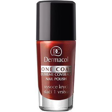 Lak na nehty DERMACOL One Coat - Extreme Coverage Nail Polish 119 10 ml (85953086)