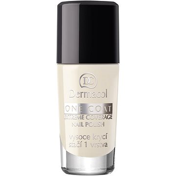 Lak na nehty DERMACOL One Coat - Extreme Coverage Nail Polish 134 10 ml (85955516)