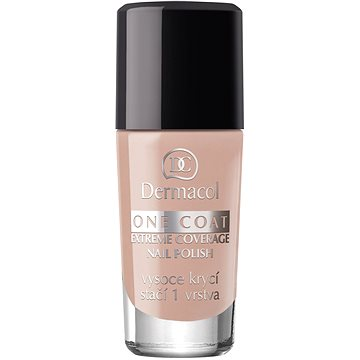 Lak na nehty DERMACOL One Coat - Extreme Coverage Nail Polish 135 10 ml (85955523)