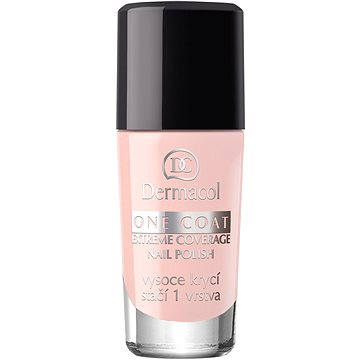 Lak na nehty DERMACOL One Coat - Extreme Coverage Nail Polish 137 10 ml (85955547)