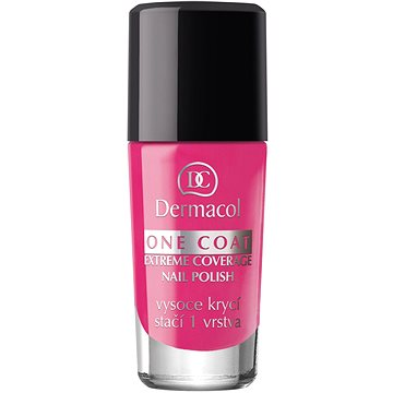 Lak na nehty DERMACOL One Coat - Extreme Coverage Nail Polish 144 10 ml (85955615)