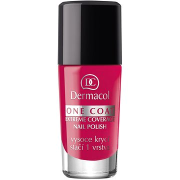 Lak na nehty DERMACOL One Coat - Extreme Coverage Nail Polish 145 10 ml (85955622)