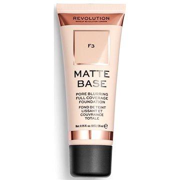 REVOLUTION Matte Base F3 28 ml (5057566066501)