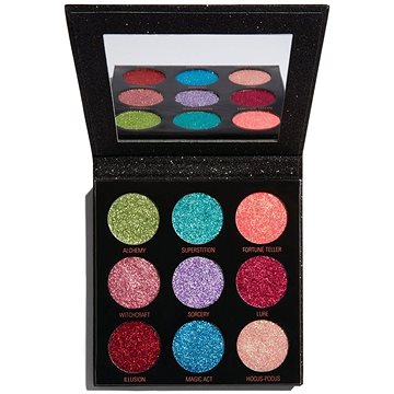 REVOLUTION Pressed Glitter Palette Abracadabra, třpytky (5057566034586)