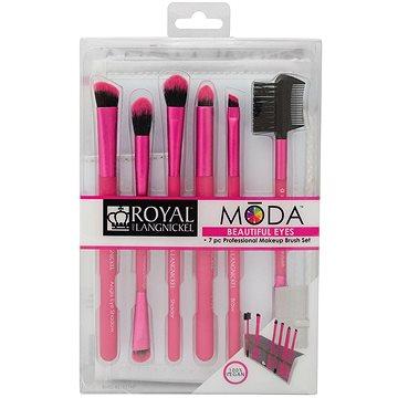 Moda® Beautiful Eyes Pink Brush Kit 7 ks (90672361660)