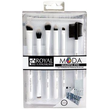 Moda® Beautiful Eyes White Brush Kit 7 ks (90672942395)