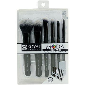 Moda® Total Face Black Brush Kit 7 ks (90672942920)