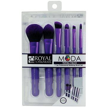 Moda® Total Face Purple Brush Kit 7 ks (90672942494)