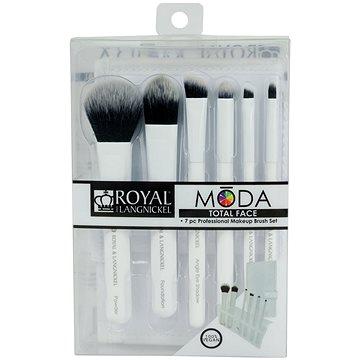 Moda® Total Face White Brush Kit 7 ks (90672942418)