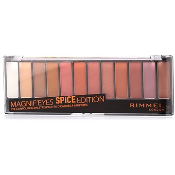 RIMMEL LONDON Magnif'Eyes Eye shadow Palette 005 Spice Edition 14,16 g (3614225973840)