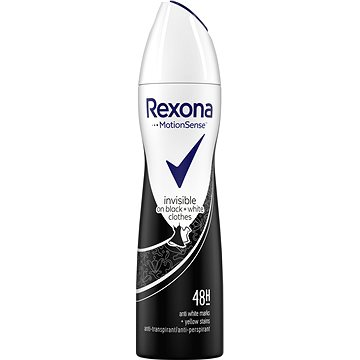 REXONA Invisible Black+White 150 ml (8712561319409)