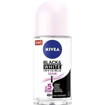 Dámský antiperspirant NIVEA Invisible Black & White Clear 50 ml (42241898)