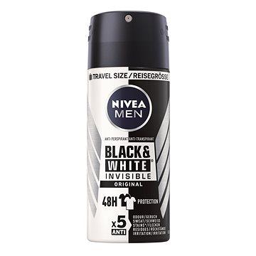 Pánský antiperspirant NIVEA MEN Black&White Power mini 100 ml - cestovní balení (4005900136367)