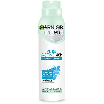 Dámský antiperspirant GARNIER Mineral Pure Active Antiperspirant 150 ml (3600542017312)