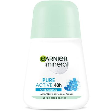 Dámský antiperspirant GARNIER Mineral Pure Active roll-on antiperspirant 50 ml (3600542017336)