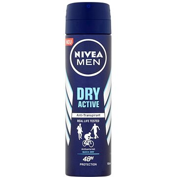NIVEA MEN Dry Active Antibacterial 150 ml (4005900488183)