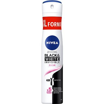 NIVEA Invisible for Black & White Clear 200 ml (9005800282688)