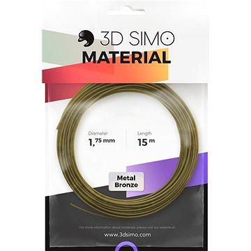 3DSimo Filament METAL - zlatá 15m (G3D3006)