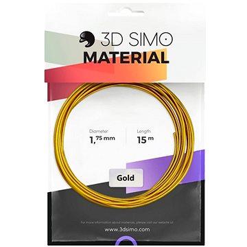 3DSimo Filament REAL GOLD - zlatá 15m (G3D3008)