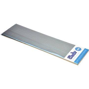 3Doodler ABS Plastic Filament Strands Skyline Silver (AB10-SILV)